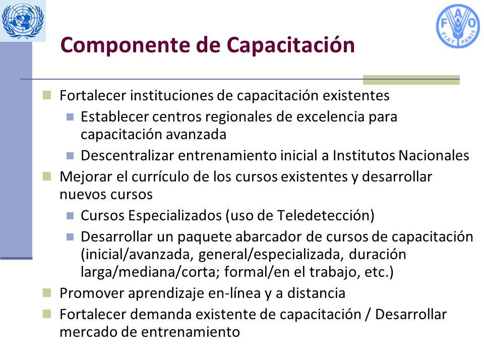 Componente de Capacitación