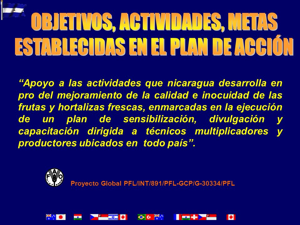 OBJETIVOS, ACTIVIDADES, METAS ESTABLECIDAS EN EL PLAN DE ACCIÓN