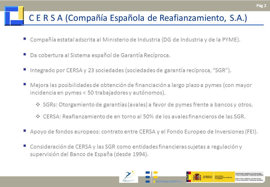 C E R S A (Compañía Española de Reafianzamiento, S.A.)