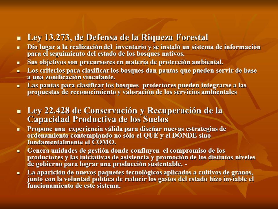 Ley 13.273, de Defensa de la Riqueza Forestal