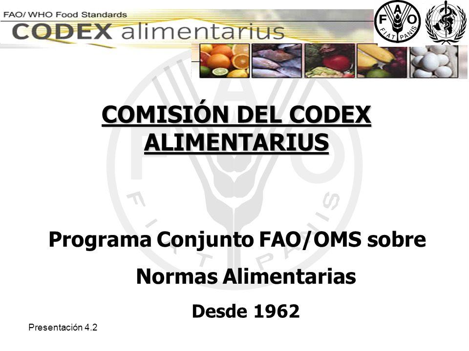 COMISIÓN DEL CODEX ALIMENTARIUS