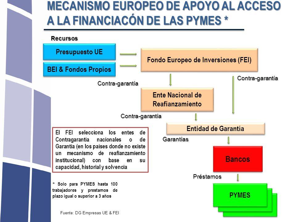 Fondo Europeo de Inversiones (FEI) Ente Nacional de Reafianzamiento