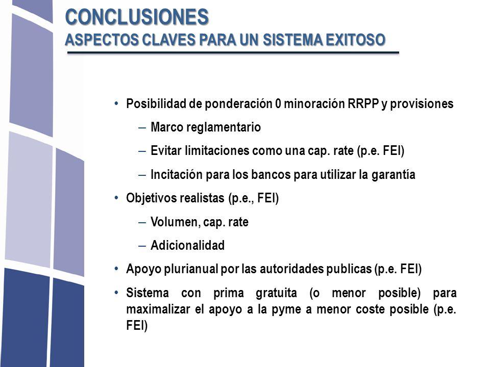 CONCLUSIONES ASPECTOS CLAVES PARA UN SISTEMA EXITOSO
