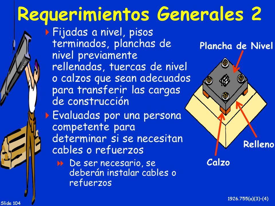 Requerimientos Generales 2