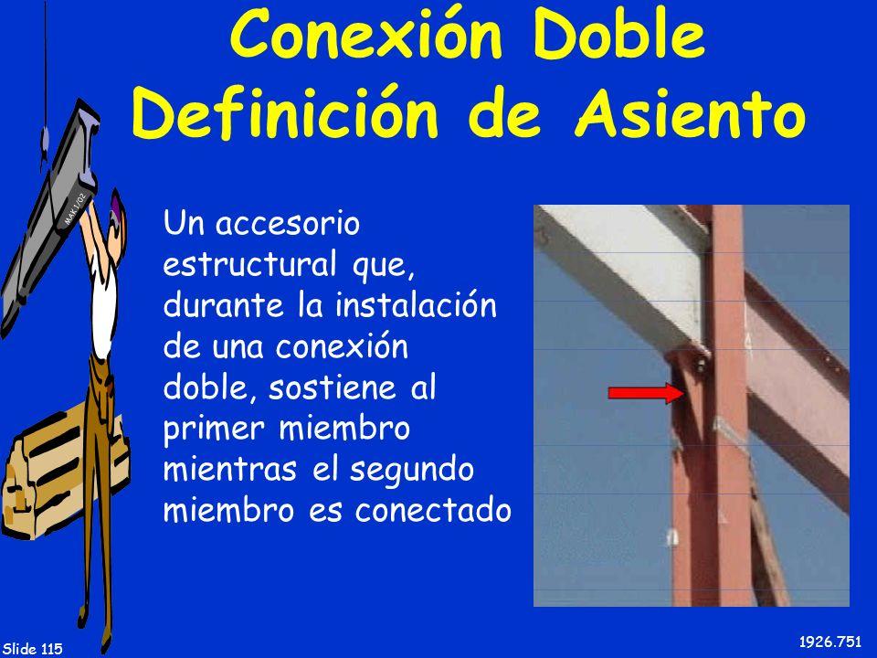 Conexión Doble Definición de Asiento