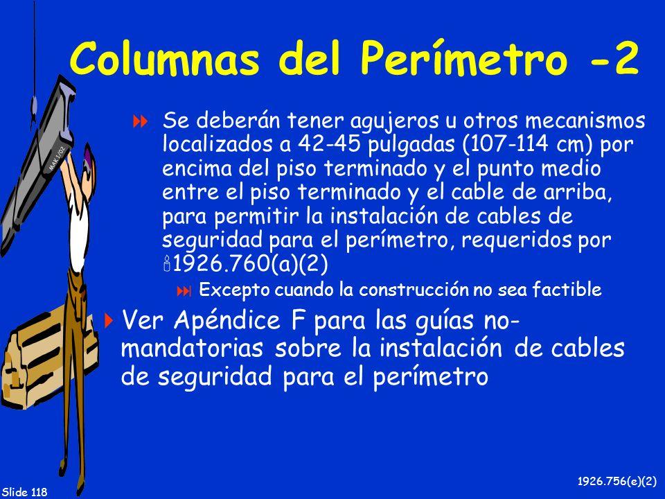 Columnas del Perímetro -2