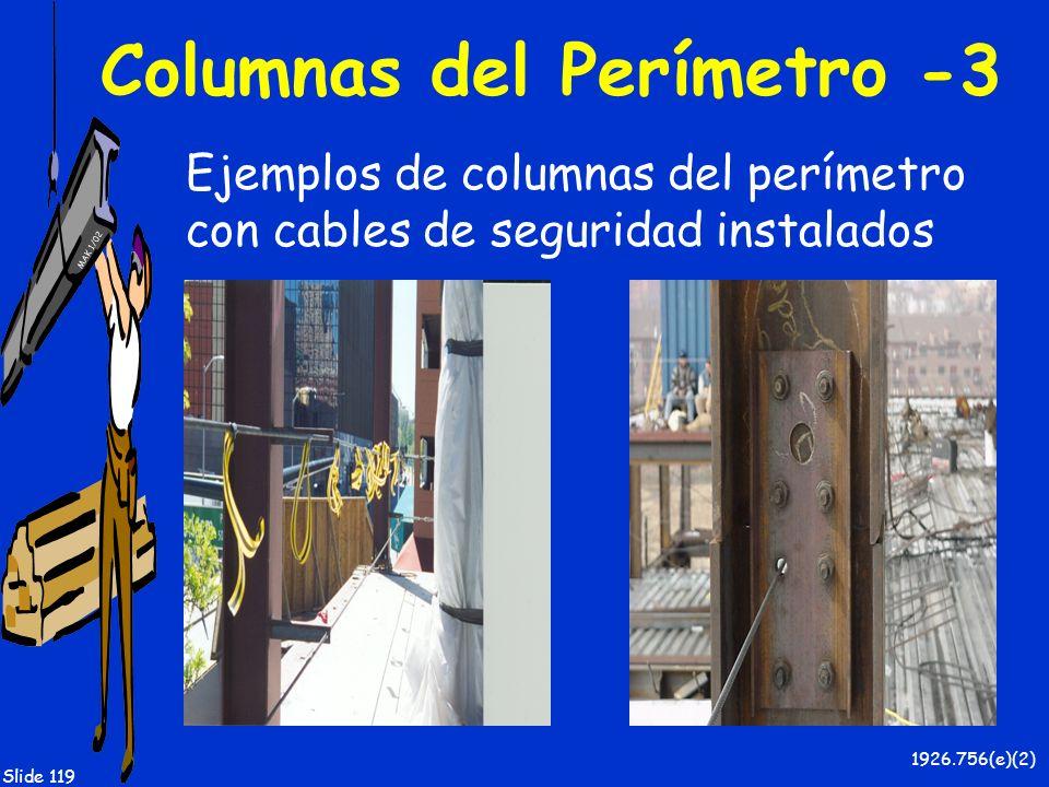 Columnas del Perímetro -3