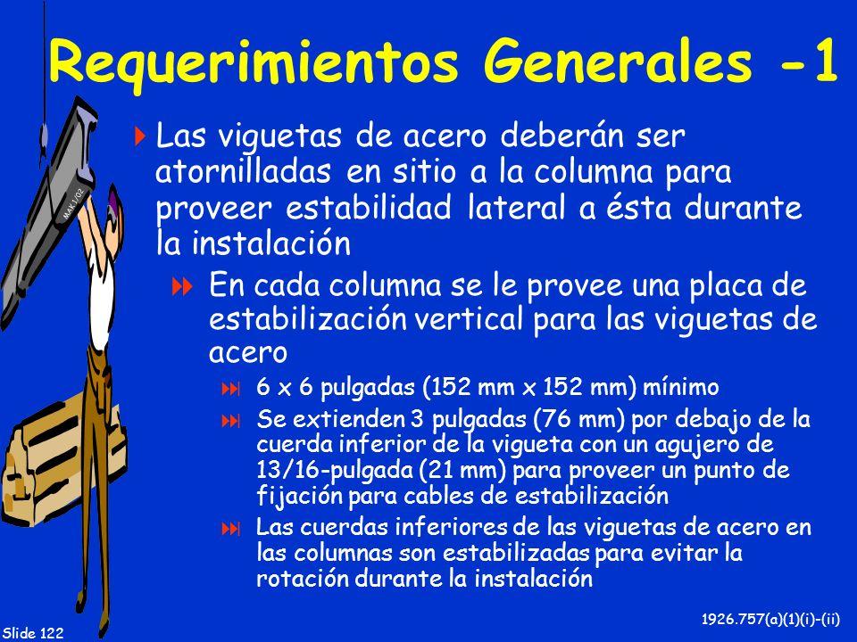 Requerimientos Generales -1