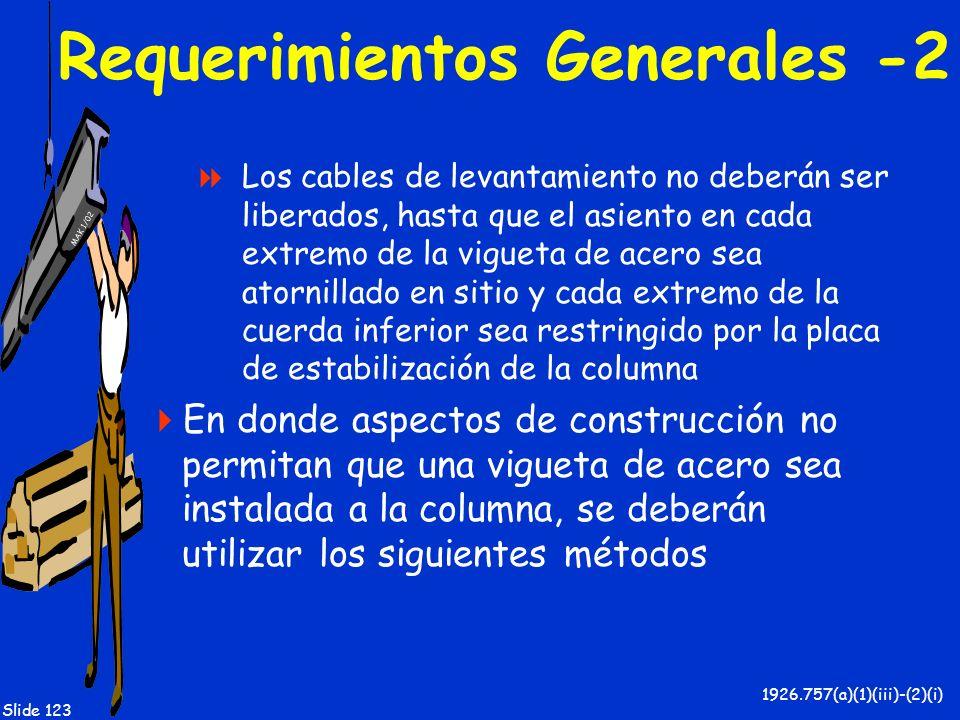 Requerimientos Generales -2