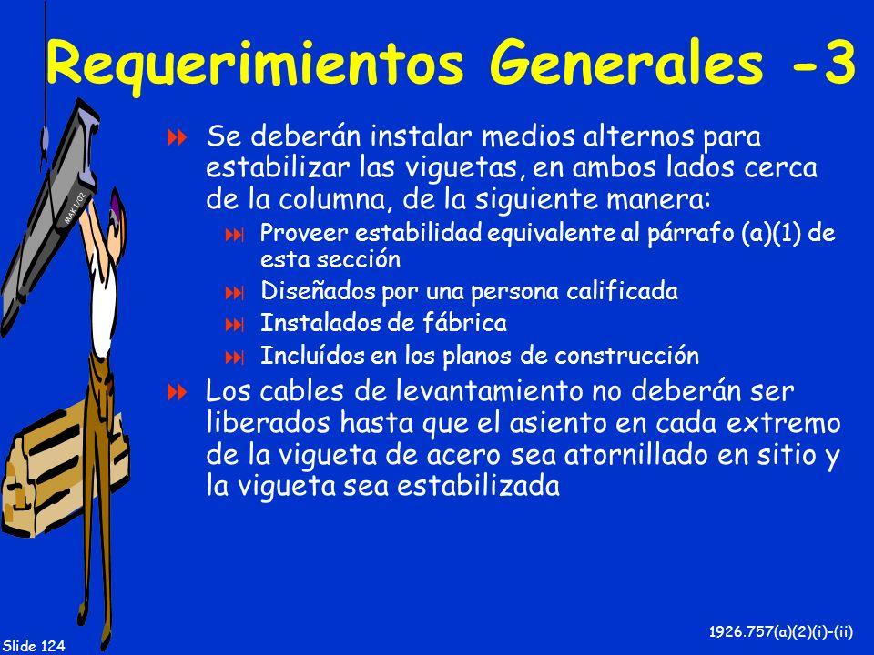 Requerimientos Generales -3