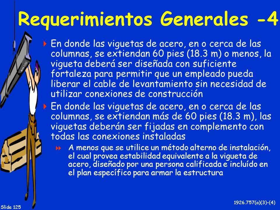 Requerimientos Generales -4
