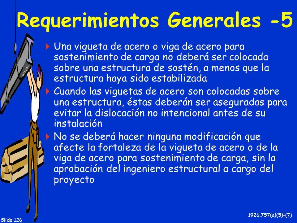 Requerimientos Generales -5