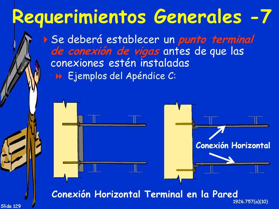 Requerimientos Generales -7