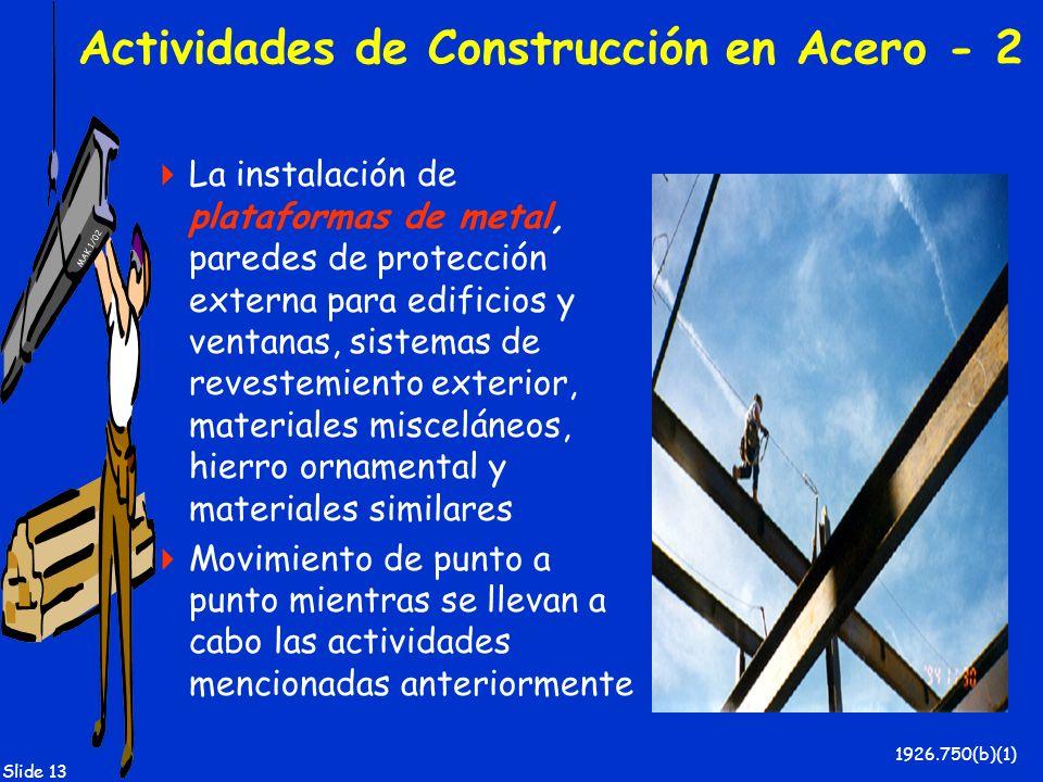 Actividades de Construcción en Acero - 2