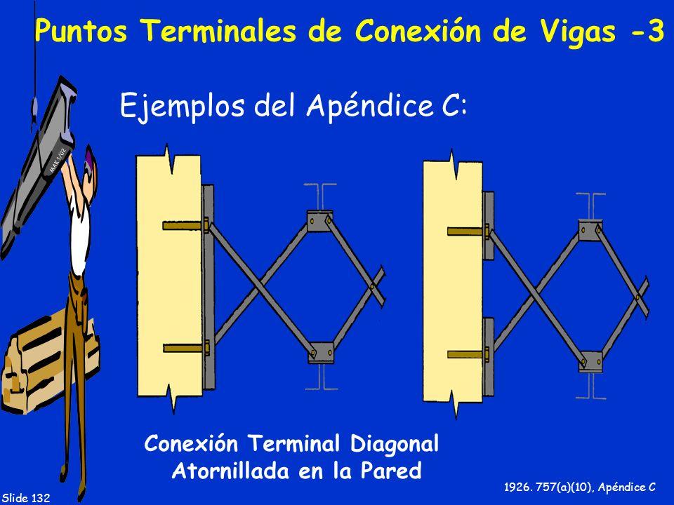 Puntos Terminales de Conexión de Vigas -3
