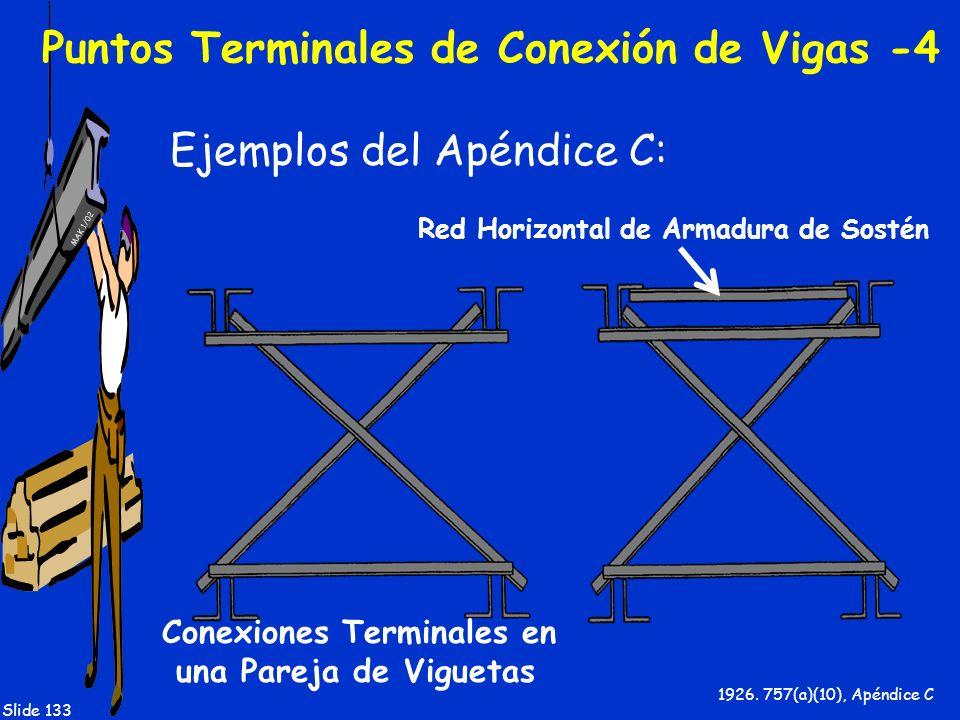 Puntos Terminales de Conexión de Vigas -4