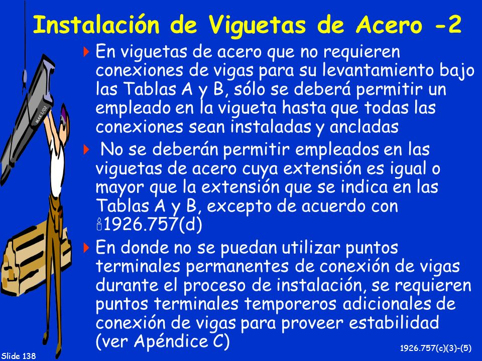 Instalación de Viguetas de Acero -2