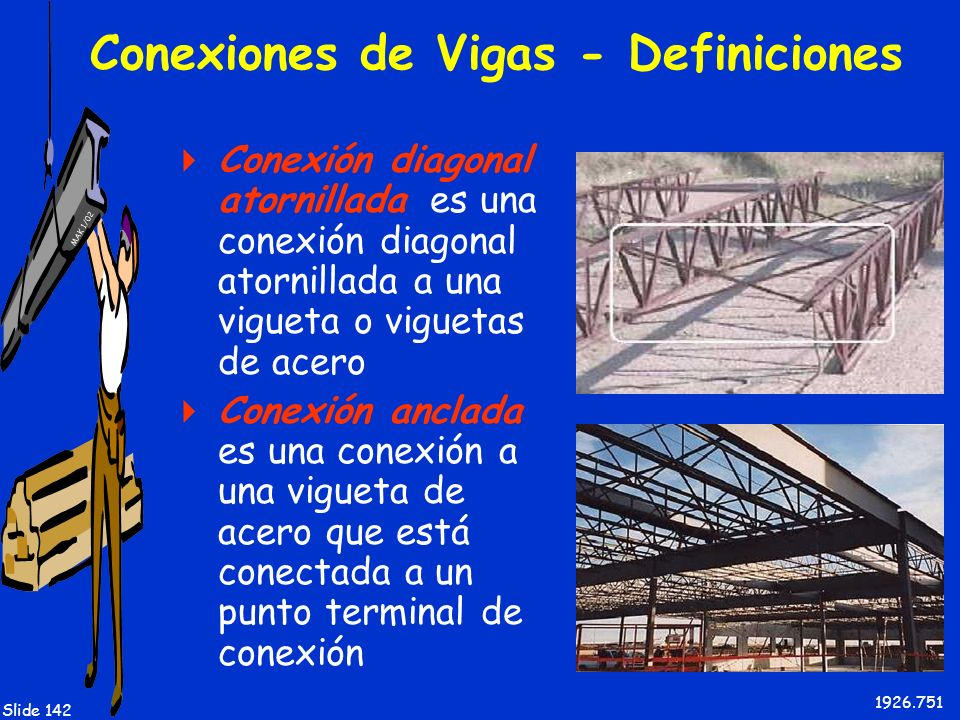 Conexiones de Vigas - Definiciones