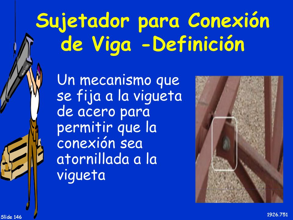 Sujetador para Conexión de Viga -Definición