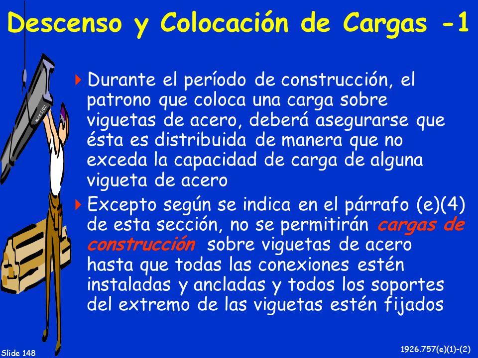 Descenso y Colocación de Cargas -1