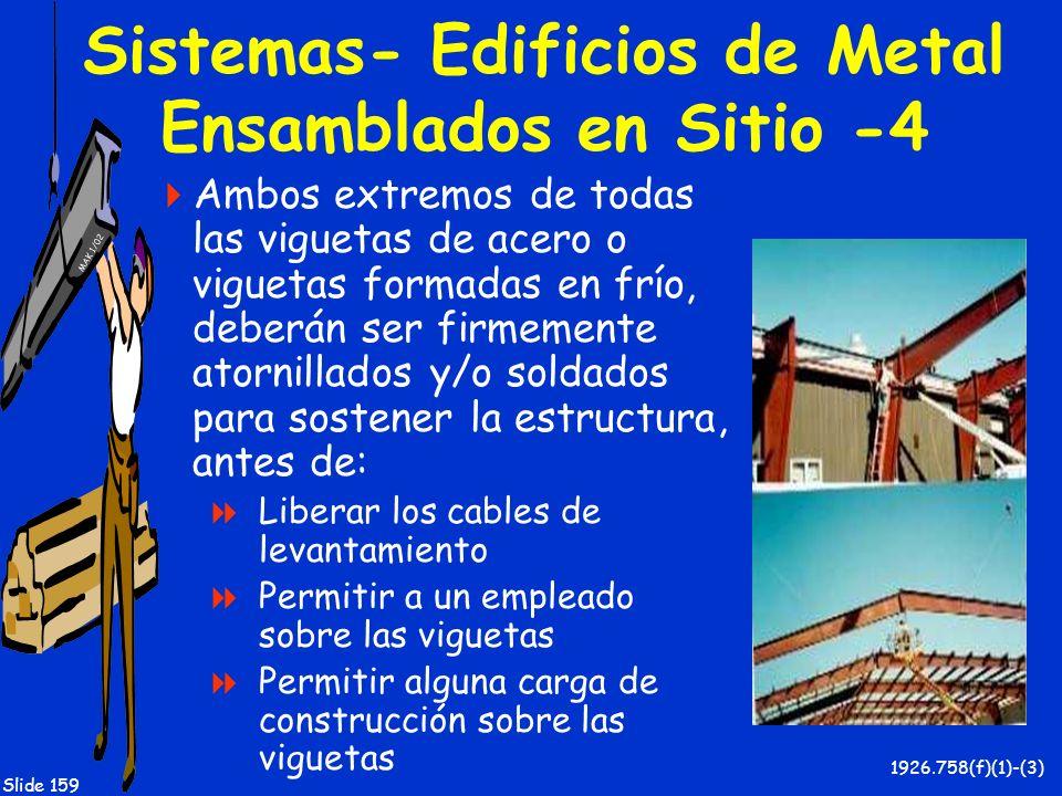 Sistemas- Edificios de Metal Ensamblados en Sitio -4