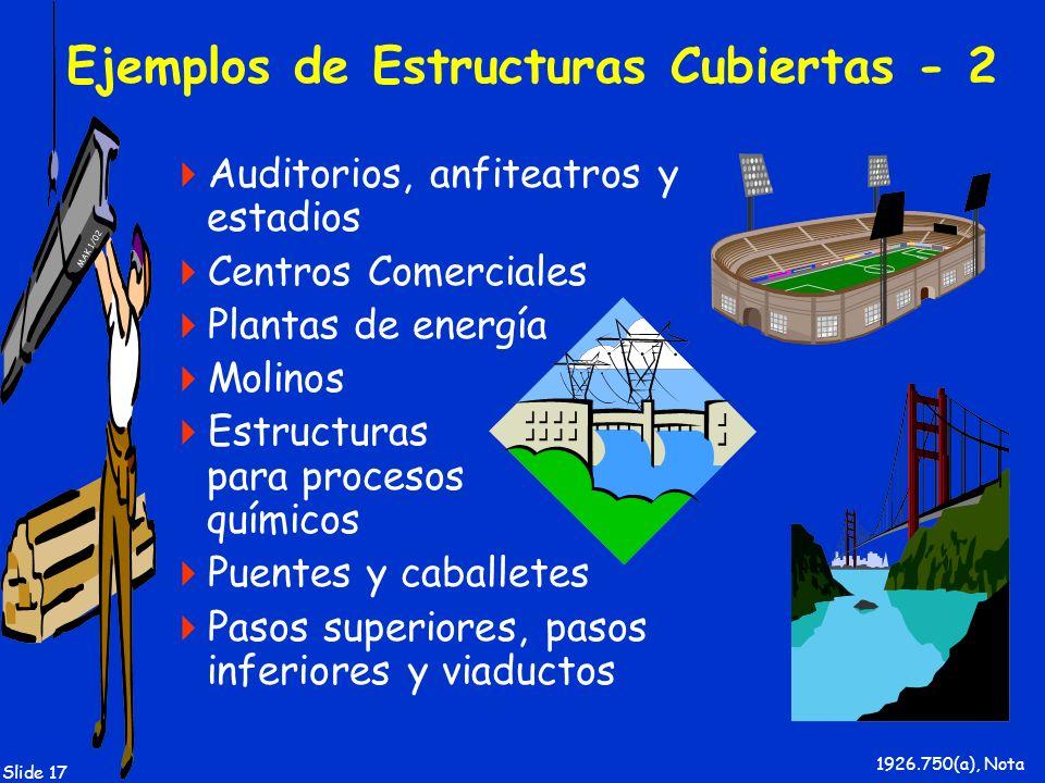 Ejemplos de Estructuras Cubiertas - 2