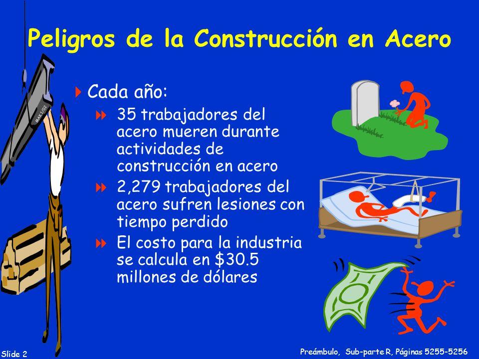 Peligros de la Construcción en Acero