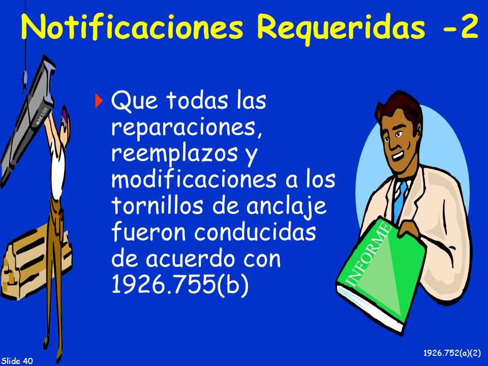 Notificaciones Requeridas -2