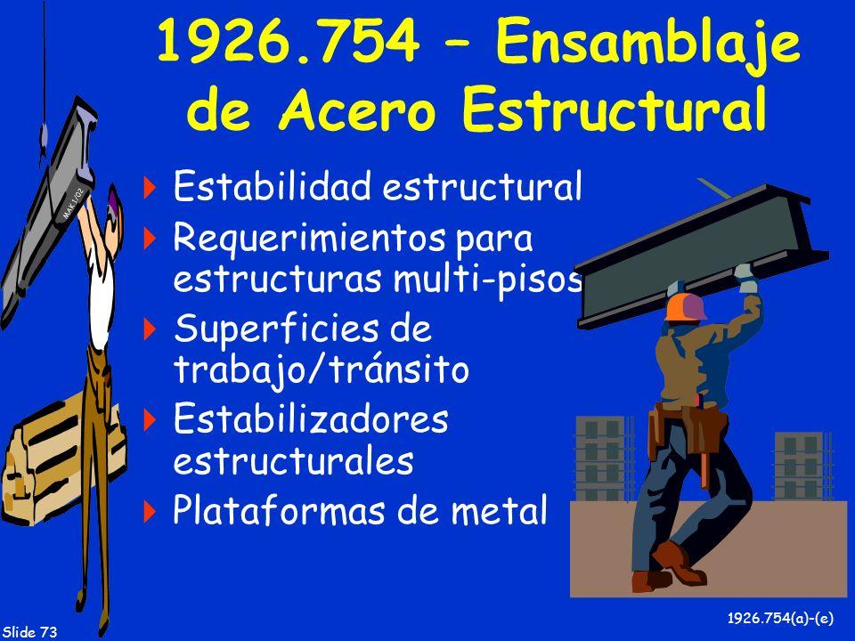 1926.754 – Ensamblaje de Acero Estructural