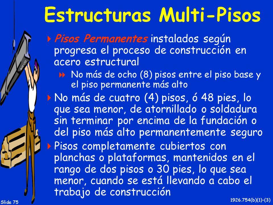 Estructuras Multi-Pisos