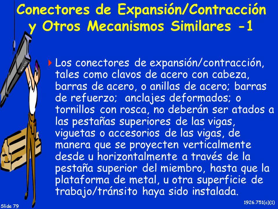 Conectores de Expansión/Contracción y Otros Mecanismos Similares -1