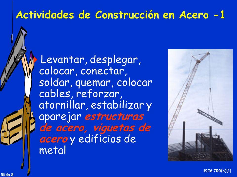 Actividades de Construcción en Acero -1