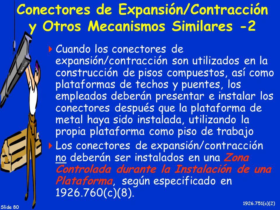Conectores de Expansión/Contracción y Otros Mecanismos Similares -2
