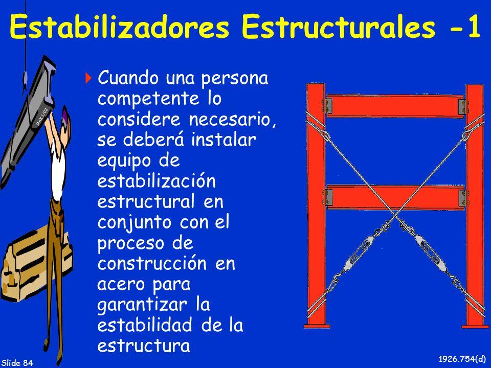 Estabilizadores Estructurales -1