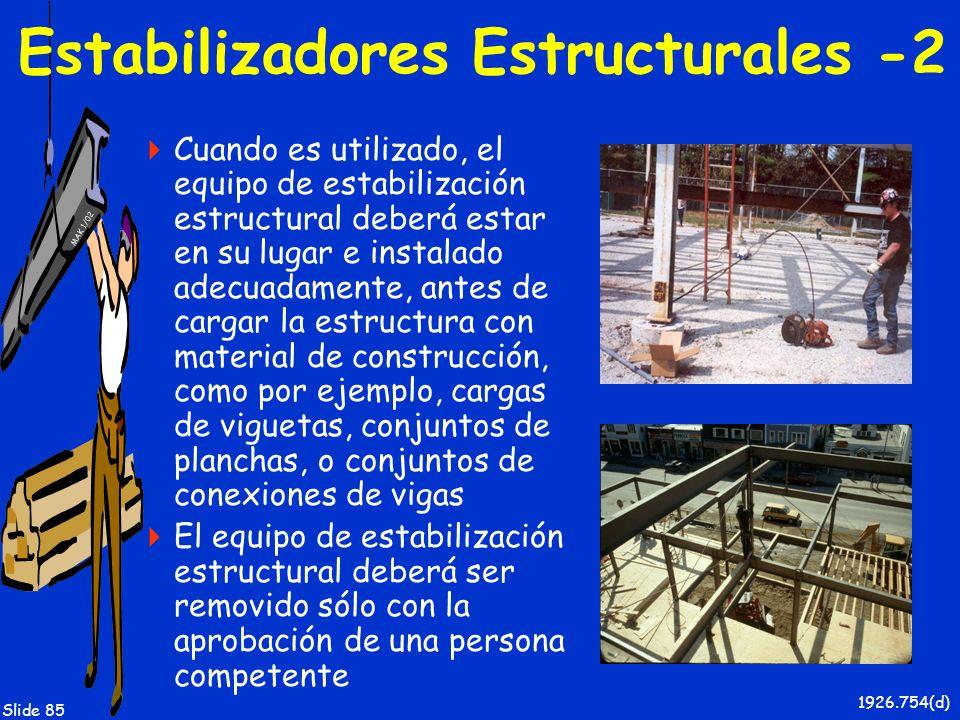 Estabilizadores Estructurales -2