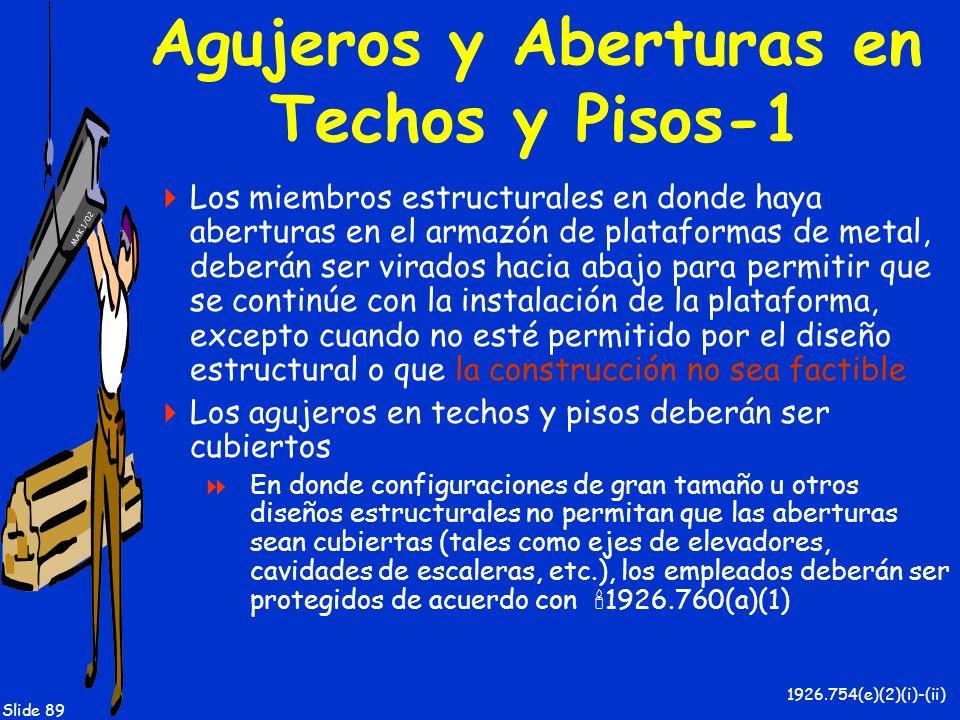 Agujeros y Aberturas en Techos y Pisos-1