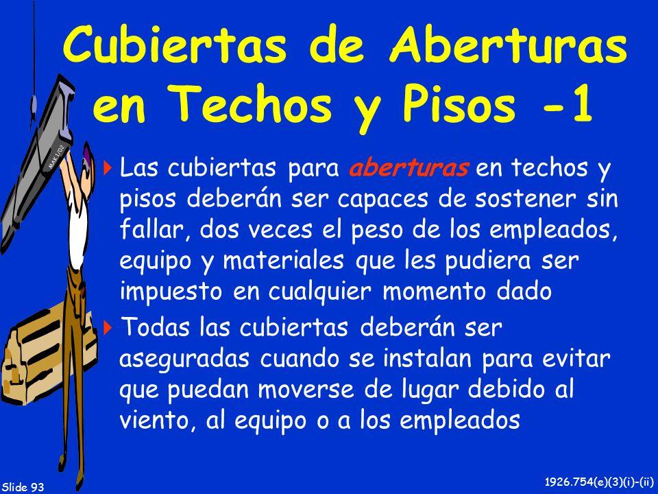 Cubiertas de Aberturas en Techos y Pisos -1