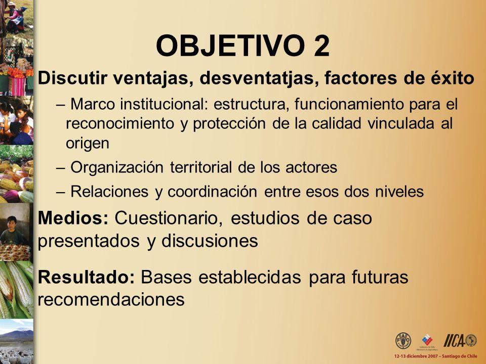 OBJETIVO 2 Discutir ventajas, desventatjas, factores de éxito