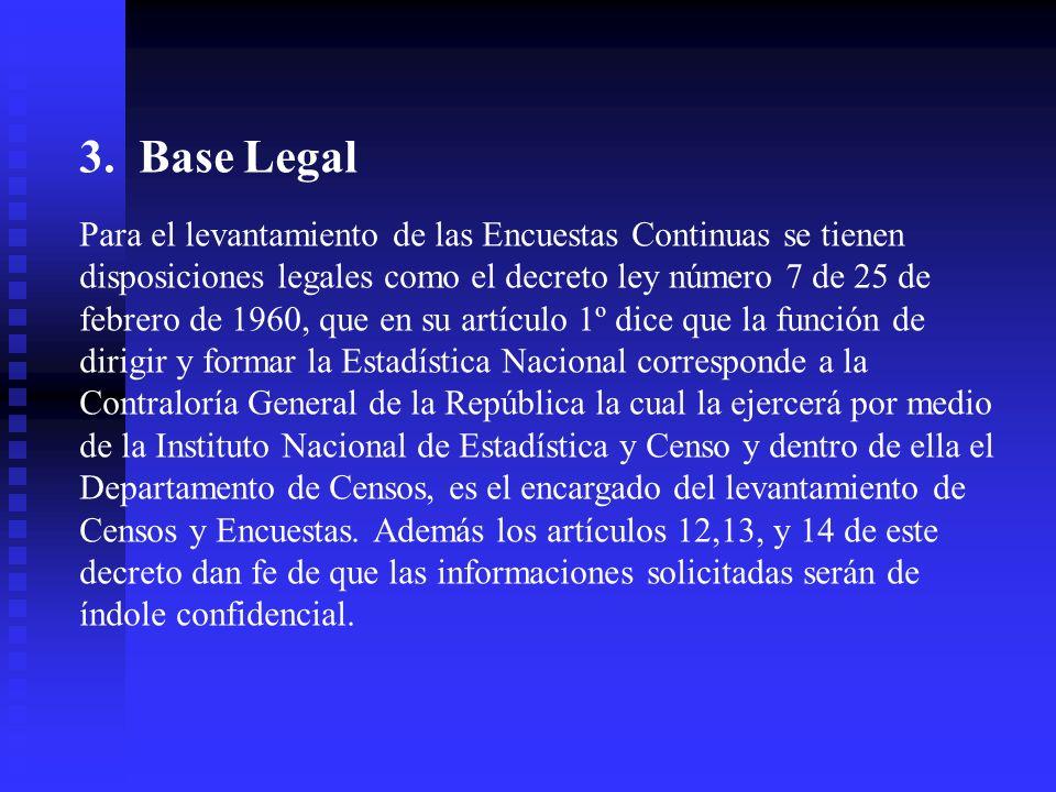 3. Base Legal