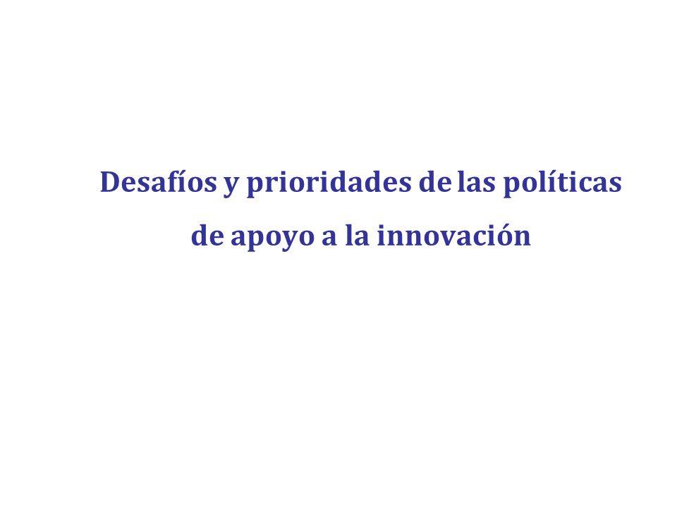 Desafíos y prioridades de las políticas de apoyo a la innovación