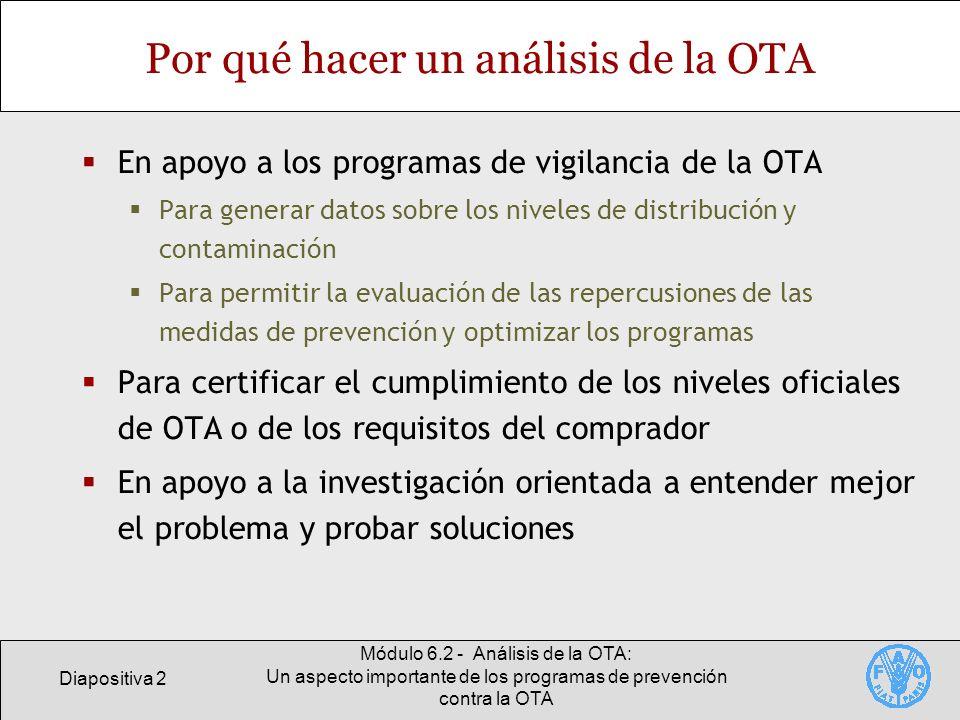 Por qué hacer un análisis de la OTA