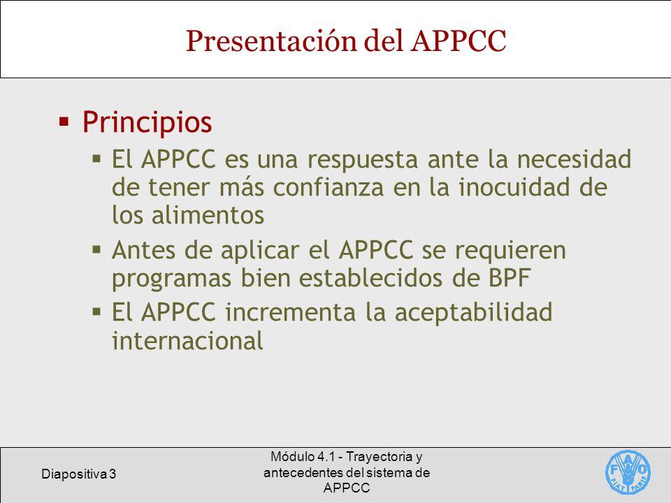 Presentación del APPCC