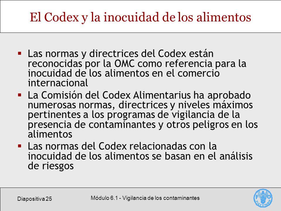 El Codex y la inocuidad de los alimentos