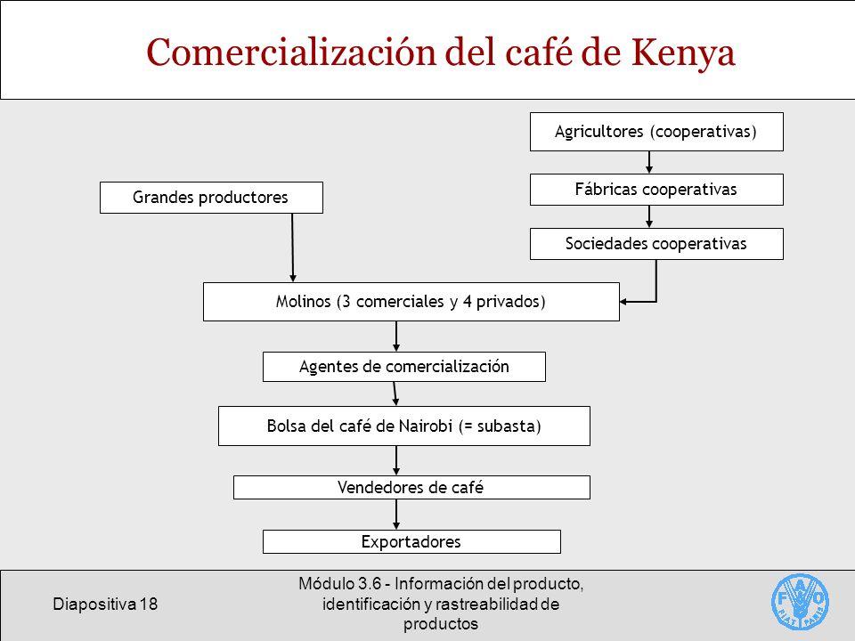 Comercialización del café de Kenya