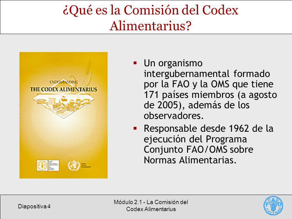¿Qué es la Comisión del Codex Alimentarius