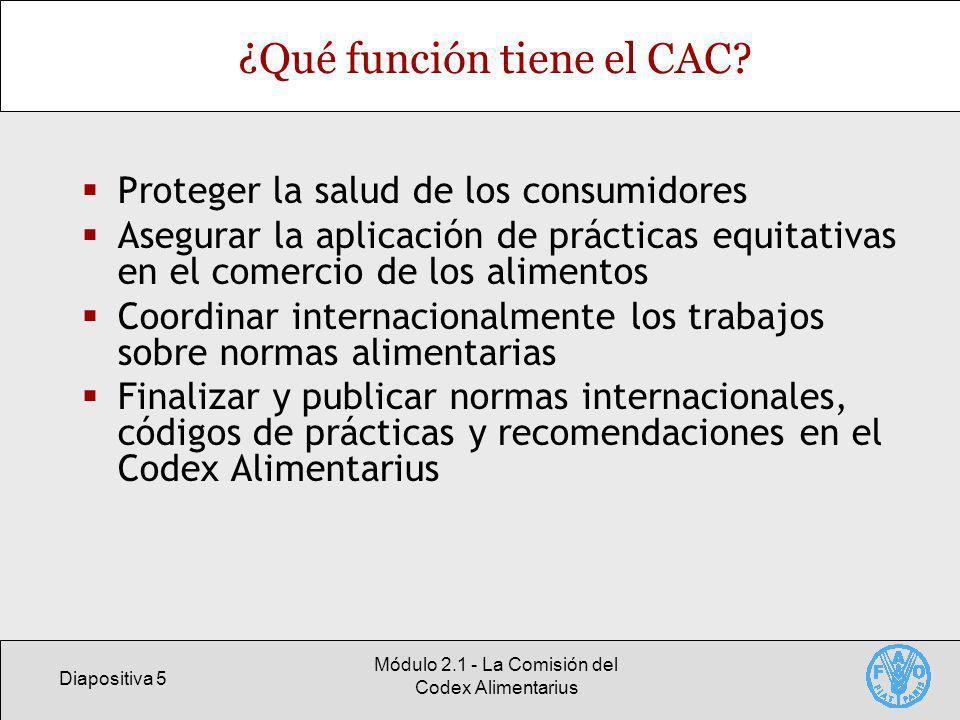 ¿Qué función tiene el CAC