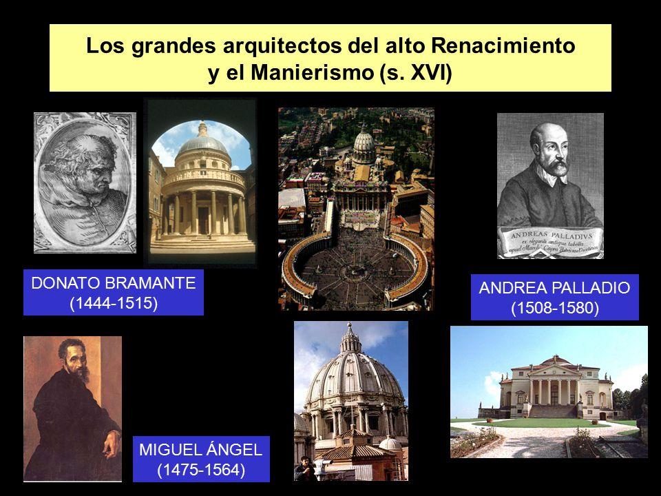 La arquitectura del alto renacimiento cinquecento y del - Arquitectura miguel angel ...