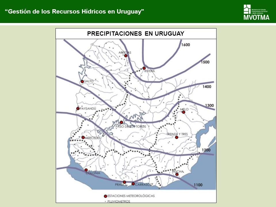 PRECIPITACIONES EN URUGUAY