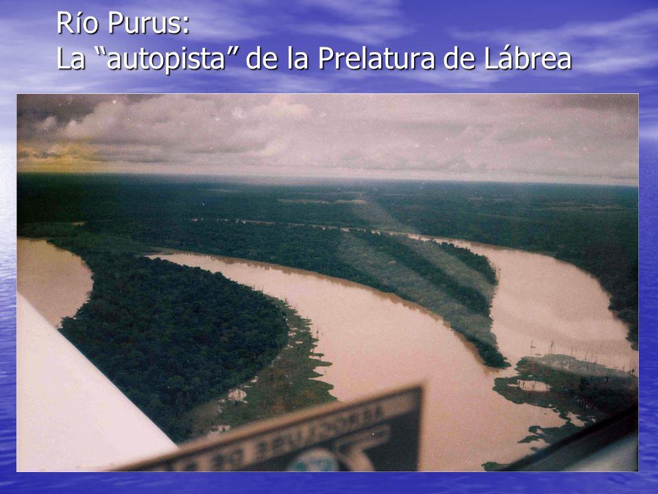 Río Purus: La autopista de la Prelatura de Lábrea