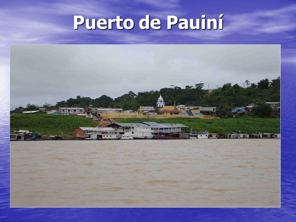 Puerto de Pauiní